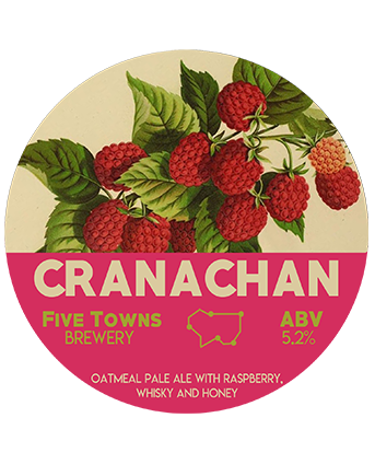 cranachan brewed by Five Towns Brewery