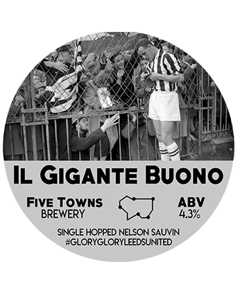 il gigante buono brewed by Five Towns Brewery