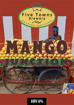 Mango Junction brewed by Five Towns Brewery
