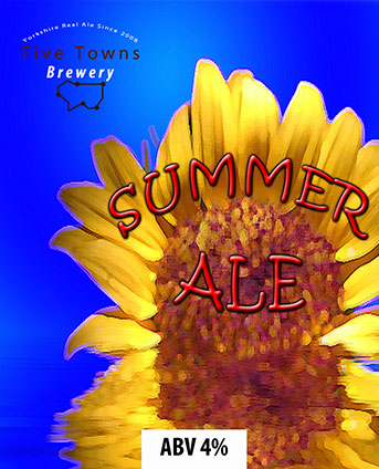 summer ale brewed by Five Towns Brewery