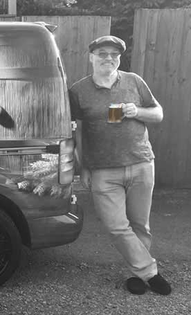 Malcolm Bastow, Head Brewer, Five Towns Brewery in Wakefield